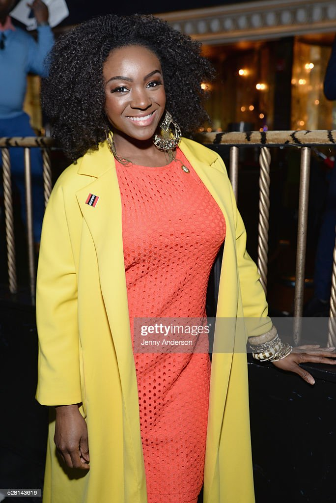 Actress <a gi-track='captionPersonalityLinkClicked' href=/galleries/search?phrase=Saycon+Sengbloh&family=editorial&specificpeople=2235783 ng-click='$event.stopPropagation()'>Saycon Sengbloh</a> attends the 2016 Tony Awards Meet The Nominees Press Reception on May 4, 2016 in New York City.