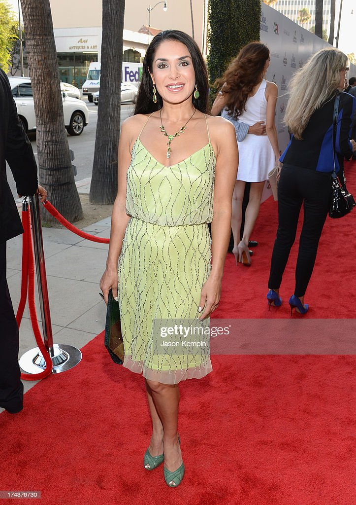 Actress Saye Yabandeh arrives at the premiere of 'Blue Jasmine' hosted by AFI & Sony Picture Classics at AMPAS Samuel Goldwyn Theater on July 24, 2013 in Beverly Hills, California.