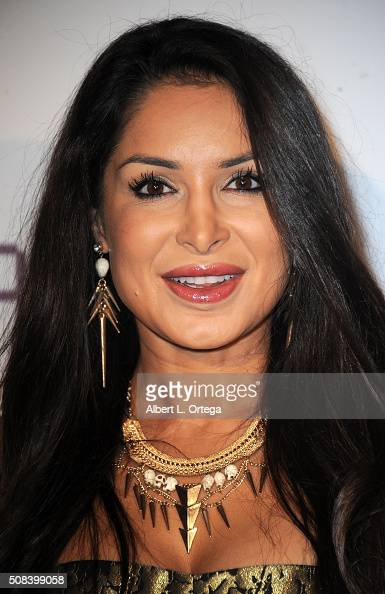 Actress Saye Yabandeh arrives for the Premiere Of 'Monday At 1101 AM' held at AMC Universal City Walk on February 3 2016 in Universal City California