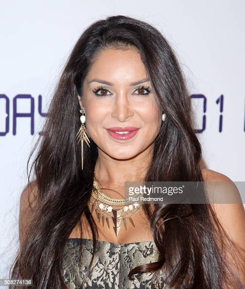 Actress Saye Yabandeh attends premiere of 'Monday At 1101 AM' at AMC Universal City Walk on February 3 2016 in Universal City California