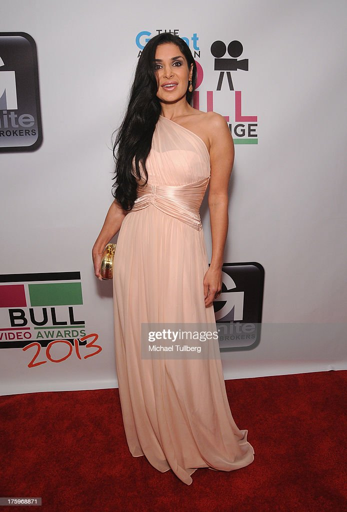 Actress Saye Yabandeh attends the 2013 No Bull Teen Video Awards at Westin LAX Hotel on August 10, 2013 in Los Angeles, California.