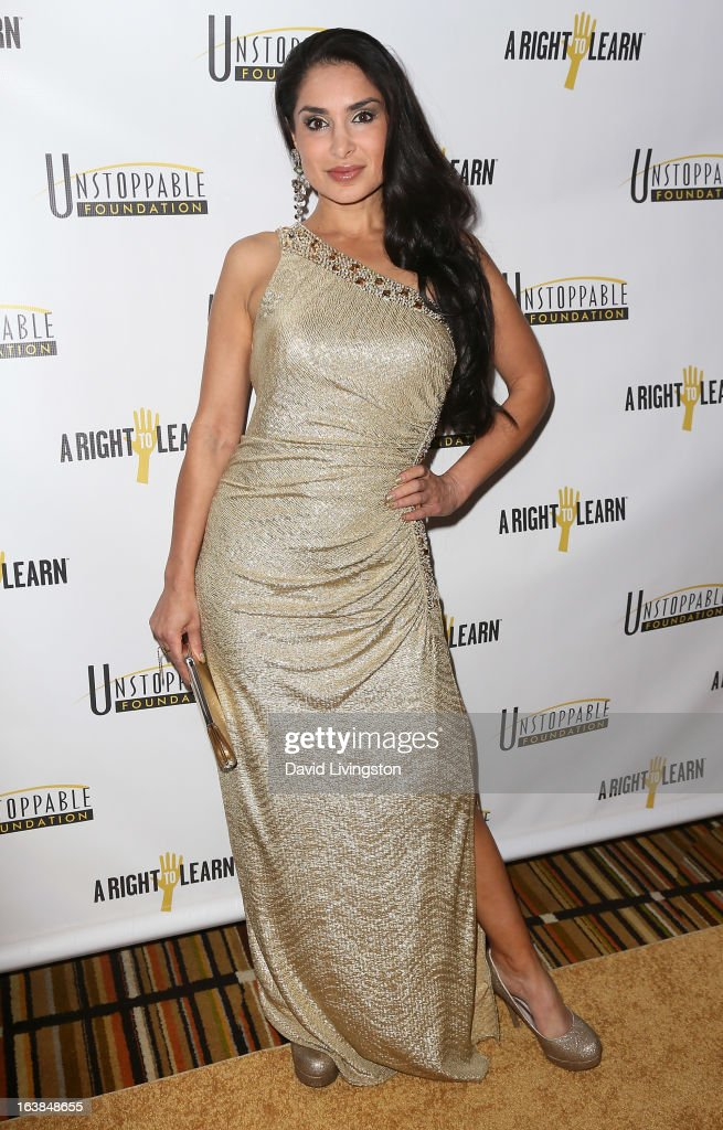 Actress Saye Yabandeh attends the 4th Annual Unstoppable Gala at the Beverly Wilshire Four Seasons Hotel on March 16, 2013 in Beverly Hills, California.