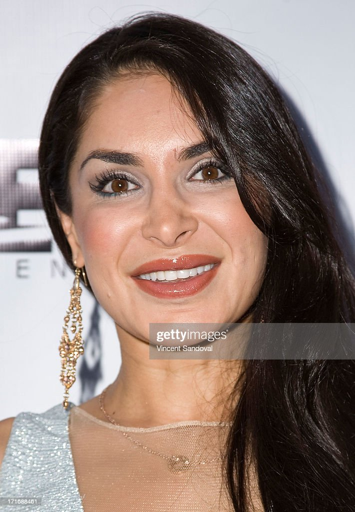 Actress <a gi-track='captionPersonalityLinkClicked' href=/galleries/search?phrase=Saye+Yabandeh&family=editorial&specificpeople=843255 ng-click='$event.stopPropagation()'>Saye Yabandeh</a> attends the Los Angeles premiere of 'Comrades' on June 27, 2013 in Los Angeles, California.