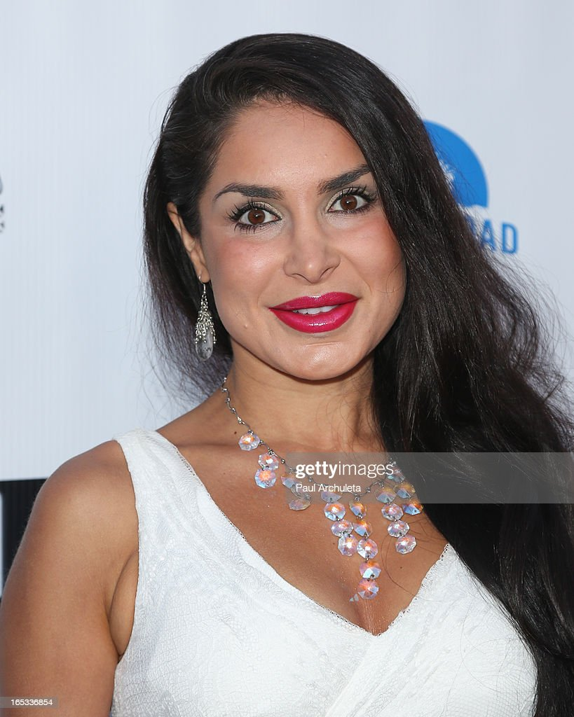 Actress Saye Yabandeh attends the No Kill LA charity event at Fred Segal on April 2, 2013 in West Hollywood, California.