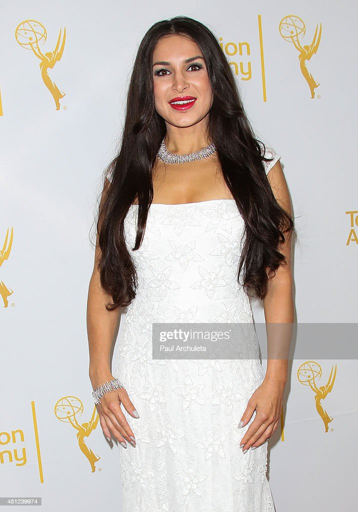 Actress Sayeh Yabandeh attends the Daytime Emmy Nominee Reception at The London West Hollywood on June 19, 2014 in West Hollywood, California.