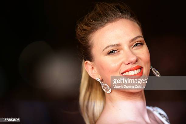 Actress Scarlett Johansson attends 'Her' Premiere during The 8th Rome Film Festival at Auditorium Parco Della Musica on November 10 2013 in Rome Italy