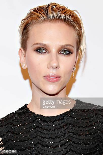Actress Scarlett Johansson attends the 24th Annual Gotham Independent Film Awards at Cipriani Wall Street on December 1 2014 in New York City