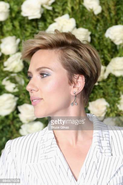 Actress Scarlett Johansson attends the 71st Annual Tony Awards at Radio City Music Hall on June 11 2017 in New York City