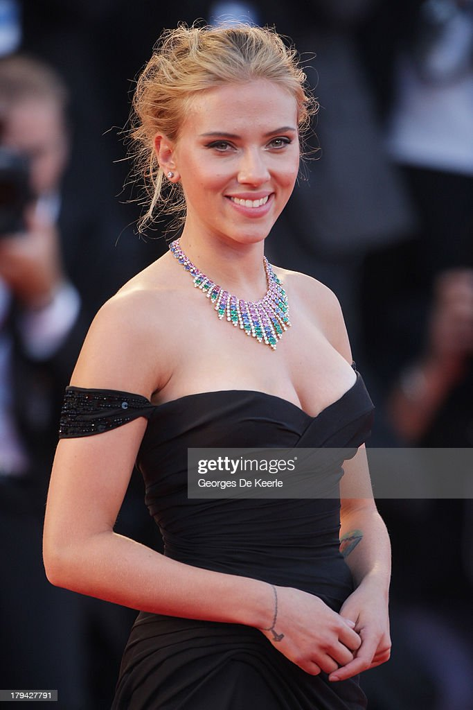 Actress Scarlett Johansson attends 'Under The Skin' Premiere during the 70th Venice International Film Festival at Palazzo del Cinema on September 3, 2013 in Venice, Italy.