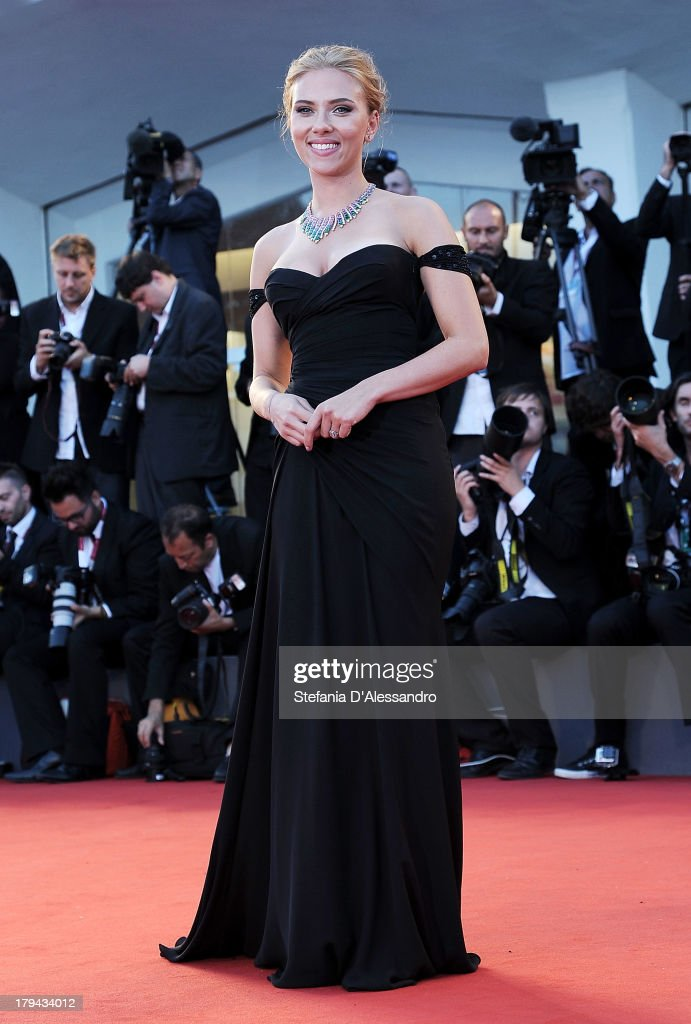 Actress Scarlett Johansson attends 'Under The Skin' Premiere during the 70th Venice International Film Festival at Sala Grande on September 3, 2013 in Venice, Italy.