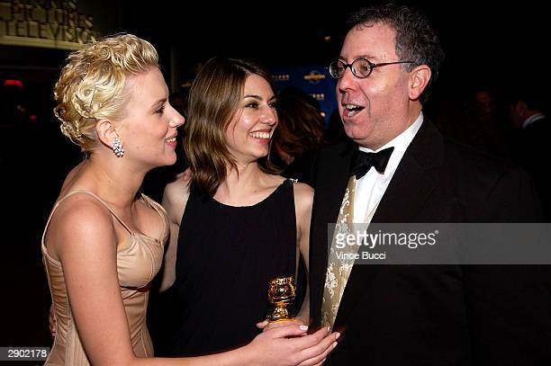 Actress Scarlett Johansson director Sofia Coppola and Focus' James Schamus attend the UniversalFocus Features afterparty during the 61st Annual...