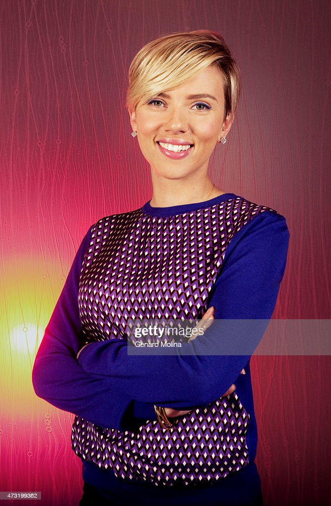 Actress <a gi-track='captionPersonalityLinkClicked' href=/galleries/search?phrase=Scarlett+Johansson&family=editorial&specificpeople=171858 ng-click='$event.stopPropagation()'>Scarlett Johansson</a> is photographed for Los Angeles Times on April 11, 2015 in Studio City, California. PUBLISHED IMAGE.