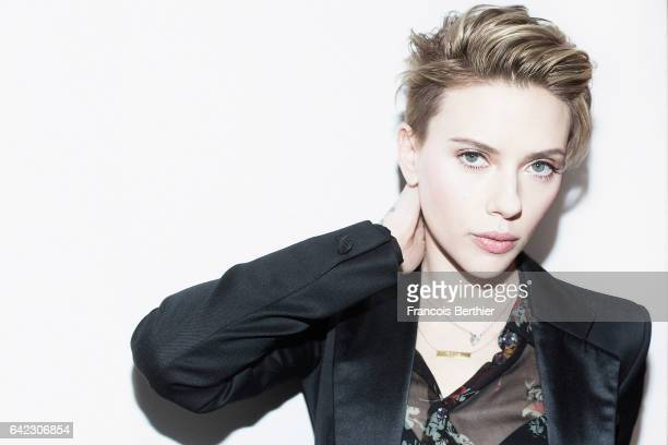 Actor Scarlett Johansson is photographed for Plugged magazine on September 1 2016 in Paris France