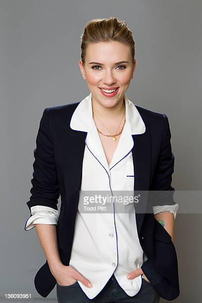 Actress Scarlett Johansson is photographed for USA Today on December 10 2011 in New York City