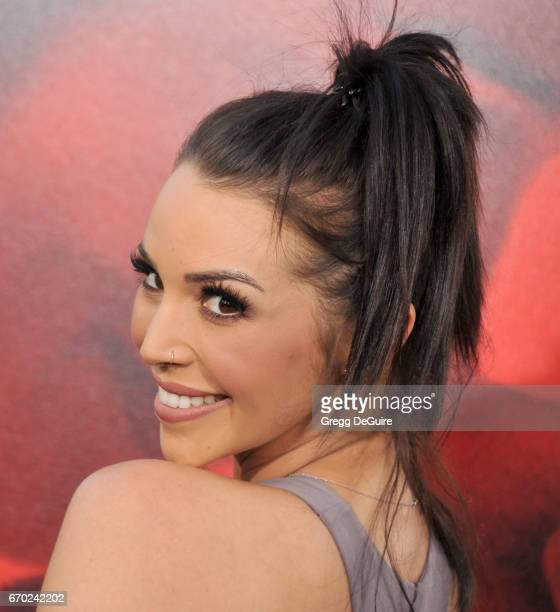Actress Scheana Marie arrives at the premiere of Warner Bros Pictures' 'Unforgettable' at TCL Chinese Theatre on April 18 2017 in Hollywood California