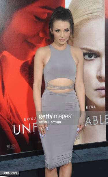 Actress Scheana Marie arrives for the Premiere Of Warner Bros Pictures' 'Unforgettable' held at TCL Chinese Theatre on April 18 2017 in Hollywood...