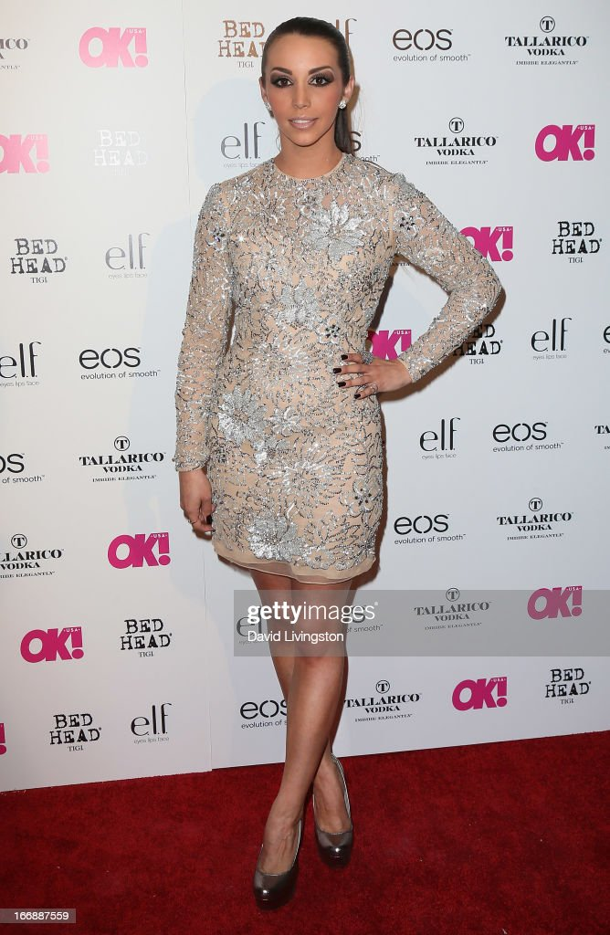 Actress Scheana Marie attends the OK! Magazine 'So Sexy' LA party at SkyBar at the Mondrian Los Angeles on April 17, 2013 in West Hollywood, California.