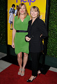 Actress Schuyler Fisk and mom actress Sissy Spacek arrive at the Los Angeles Premiere 'The Help' at AMPAS Samuel Goldwyn Theater on August 9 2011 in...
