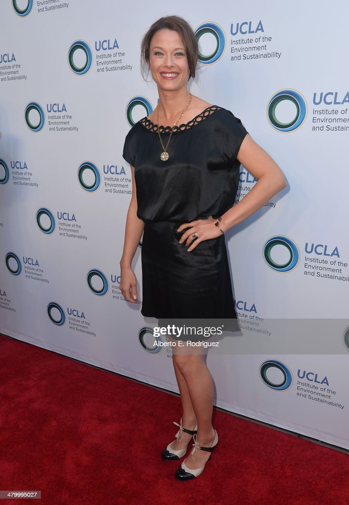 Actress Scottie Thompson attends An Evening of Environmental Excellence presented by the UCLA Institute of the Environment and Sustainability on March 21, 2014 in Beverly Hills, California.