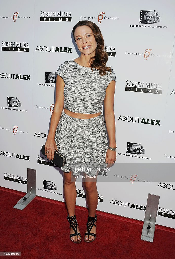 Actress Scottie Thompson attends the 'About Alex' Los Angeles premiere held at the Arclight Theater on August 6, 2014 in Hollywood, California.