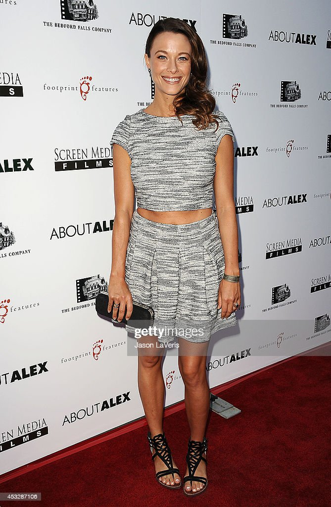 Actress Scottie Thompson attends the premiere of 'About Alex' at ArcLight Hollywood on August 6, 2014 in Hollywood, California.