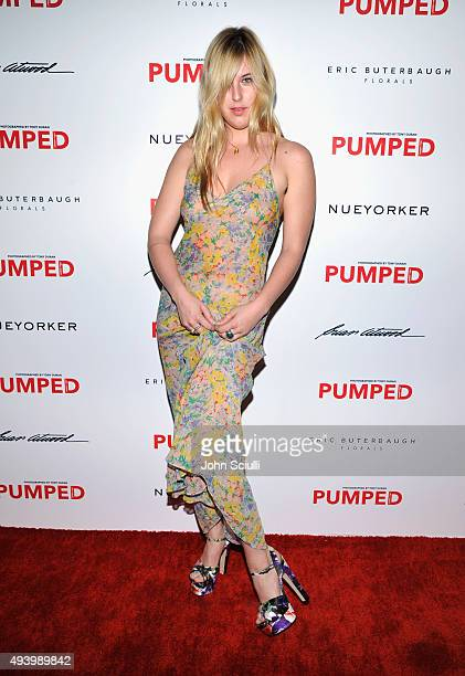 Actress Scout LaRue Willis attends Brian Atwood's Celebration of PUMPED hosted by Melissa McCarthy and Eric Buterbaugh on October 23 2015 in Los...