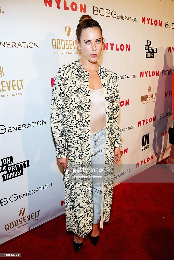 Actress <a gi-track='captionPersonalityLinkClicked' href=/galleries/search?phrase=Scout+Willis&family=editorial&specificpeople=2669400 ng-click='$event.stopPropagation()'>Scout Willis</a> attends the Nylon + BCBGeneration May Young Hollywood Party at Hollywood Roosevelt Hotel on May 8, 2014 in Hollywood, California.