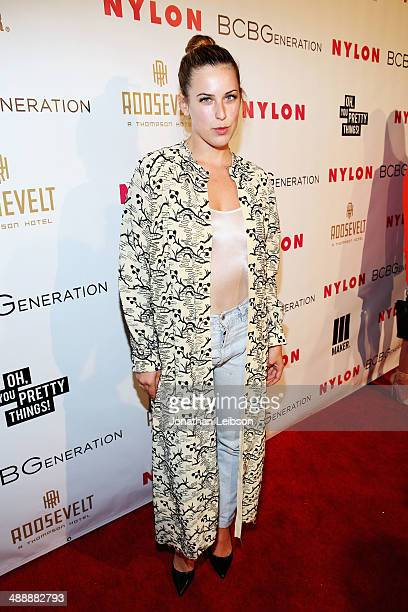 Actress Scout Willis attends the Nylon BCBGeneration May Young Hollywood Party at Hollywood Roosevelt Hotel on May 8 2014 in Hollywood California