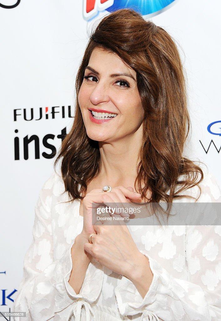 Actress/ screenwriter Nia Vardalos attends the Mamarazzi Screening Of 'My Big Fat Greek Wedding 2' on March 18 2016 in New York City