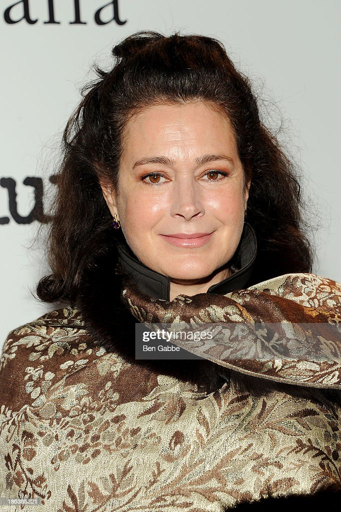 Actress Sean Young attends The Cinema Society with Linda Wells & Allure Magazine premiere of Entertainment One's 'Diana' at SVA Theater on October 30, 2013 in New York City.
