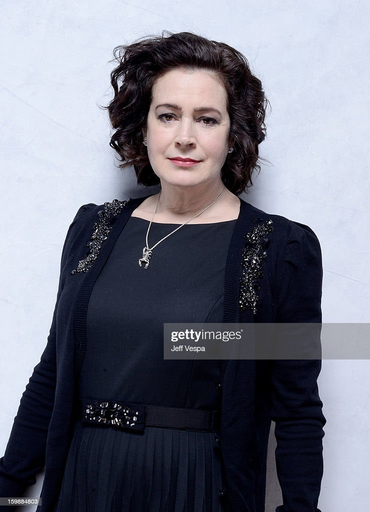 Actress Sean Young poses for a portrait during the 2013 Sundance Film Festival at the WireImage Portrait Studio at Village At The Lift on January 22, 2013 in Park City, Utah.