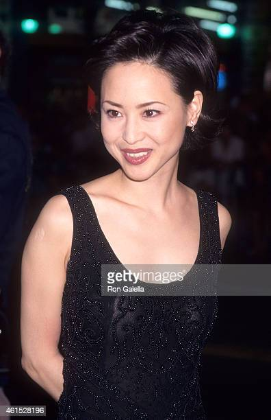 Actress Seiko Matsuda attends 'The Game' Hollywood Premiere on September 8 1997 at the Mann's Chinese Theatre in Hollywood California