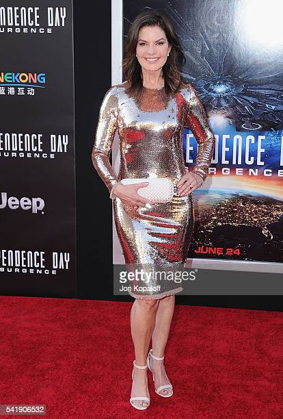 Actress Sela Ward arrives at the Los Angeles Premiere 'Independence Day Resurgence' at TCL Chinese Theatre on June 20 2016 in Hollywood California
