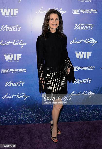 Actress Sela Ward arrives at Variety and Women in Film PreEMMY Event presented by Saint Vintage at Scarpetta Beverly Hills on September 21 2012 in...