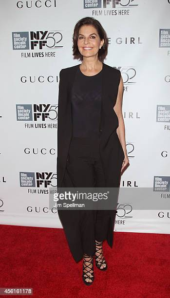 Actress Sela Ward attends the 52nd New York Film Festival Opening Night Gala Presentation and World Premiere Of 'Gone Girl' at Alice Tully Hall on...