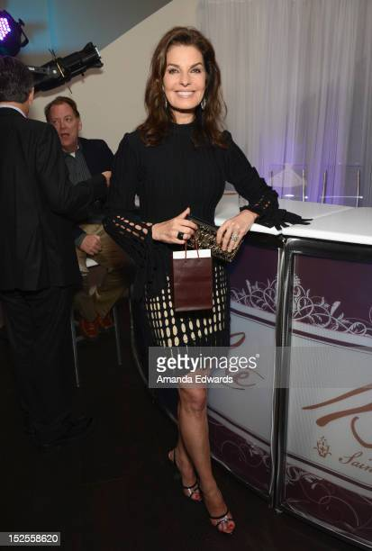 Actress Sela Ward attends Variety and Women in Film PreEMMY Event presented by Saint Vintage at Scarpetta Beverly Hills on September 21 2012 in...