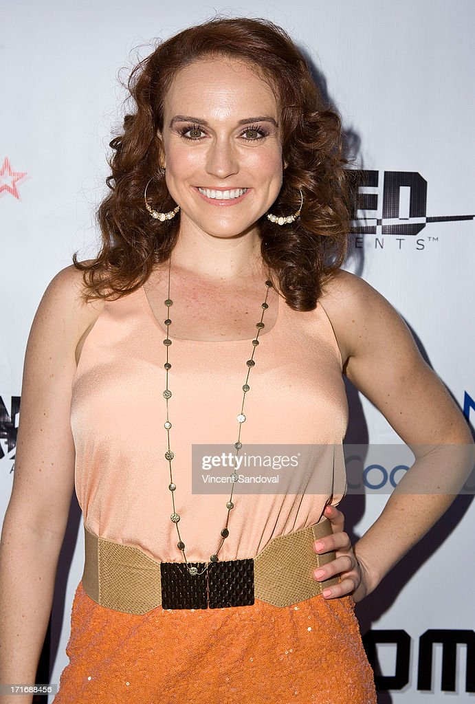 Actress Selah Victor attends the Los Angeles premiere of 'Comrades' on June 27, 2013 in Los Angeles, California.