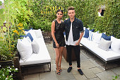 Actress Selena Gomez and Brooklyn Beckham attend the Polo Ralph Laurenfashion show during Spring 2016 New York Fashion Week at Gallow Green at the...