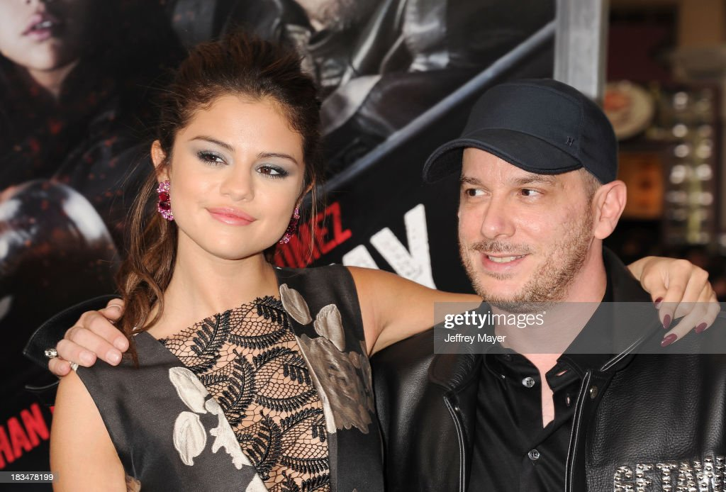 Actress <a gi-track='captionPersonalityLinkClicked' href=/galleries/search?phrase=Selena+Gomez&family=editorial&specificpeople=4295969 ng-click='$event.stopPropagation()'>Selena Gomez</a> and director <a gi-track='captionPersonalityLinkClicked' href=/galleries/search?phrase=Courtney+Solomon&family=editorial&specificpeople=2167140 ng-click='$event.stopPropagation()'>Courtney Solomon</a> arrive at the 'Getaway' - Los Angeles Premiere at Regency Village Theatre on August 26, 2013 in Westwood, California.