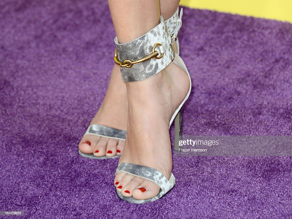 Actress Selena Gomez arrives at Nickelodeon's 26th Annual Kids' Choice Awards at USC Galen Center on March 23, 2013 in Los Angeles, California.