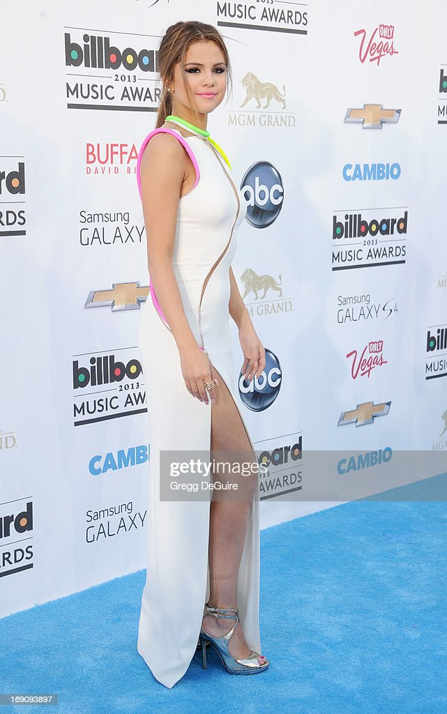 Actress Selena Gomez arrives at the 2013 Billboard Music Awards at MGM Grand Garden Arena on May 19, 2013 in Las Vegas, Nevada.