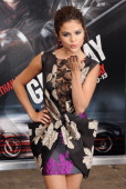 Actress Selena Gomez arrives at the Los Angeles Premiere 'Getaway' at Regency Village Theatre on August 26 2013 in Westwood California