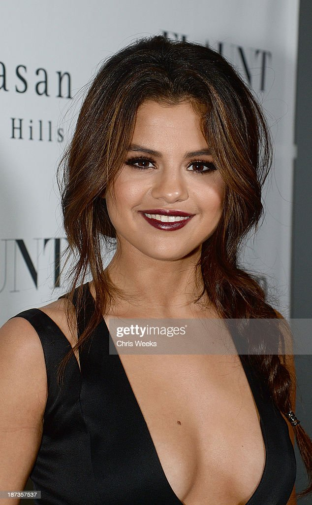 Actress Selena Gomez attends the Flaunt Magazine November issue party at Hakkasan on November 7 2013 in Beverly Hills California