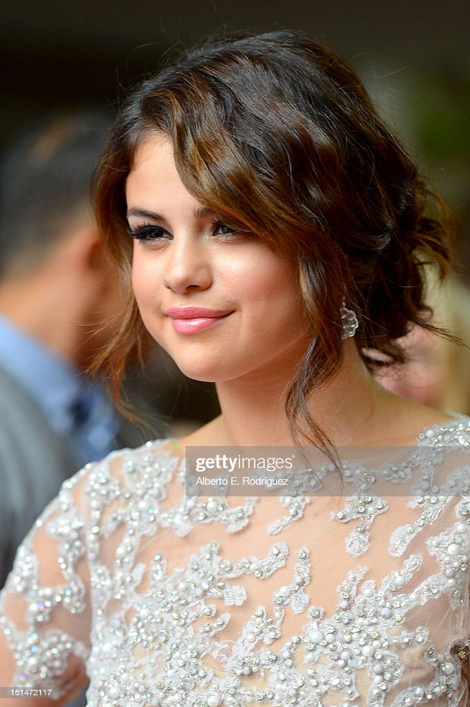 Actress Selena Gomez attends the'Spring Breakers' premiere during the 2012 Toronto International Film Festival at Ryerson Theatre on September 7, 2012 in Toronto, Canada.