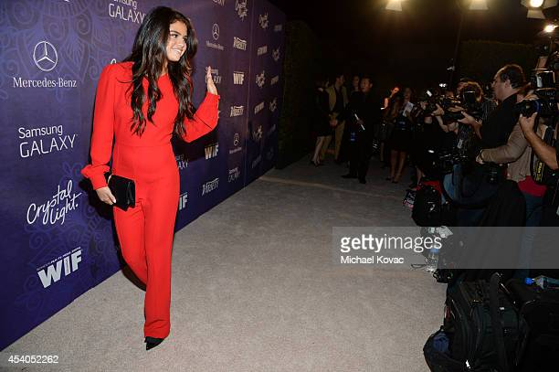 Actress Selena Gomez attends Variety and Women in Film Emmy Nominee Celebration powered by Samsung Galaxy on August 23 2014 in West Hollywood...