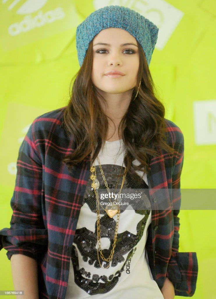 Actress Selena Gomez signs with adidas NEO label as global style icon and guest designer on November 20, 2012 in Los Angeles, California.