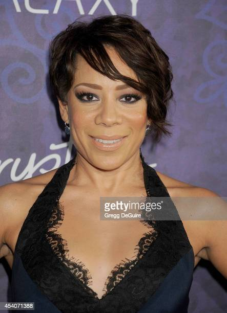 Actress Selenis Leyva arrives at the Variety And Women In Film Annual PreEmmy Celebration at Gracias Madre on August 23 2014 in West Hollywood...