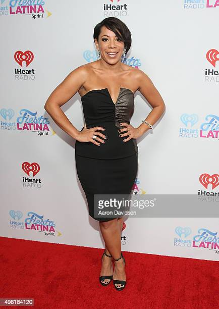 Actress Selenis Leyva attends iHeartRadio Fiesta Latina presented by Sprint at American Airlines Arena on November 7 2015 in Miami Florida