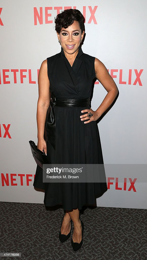 Actress Selenis Leyva attends Netflix's 'Orange Is The New Black' For Your Consideration Screening and Q & A at the Directors Guild Of America on May 20, 2015 in Los Angeles, California.