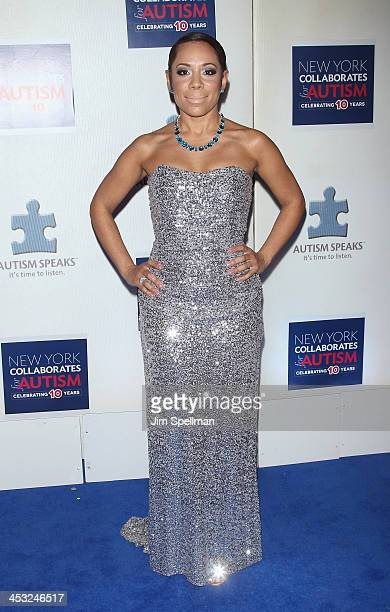 Actress Selenis Leyva attends the 2013 Winter Ball For Autism the at Metropolitan Museum of Art on December 2 2013 in New York City